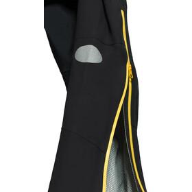 Y by Nordisk Horizon Pantalón de 2,5 Capas, black/neon yellow